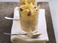 Mocha Dessert with Mango recipe