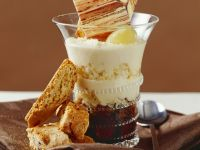 Modern Tiramisu with Cantucci Cookies recipe