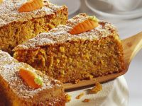 Moist Carrot Cake with Decoration recipe