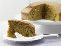Moist Carrot-Walnut Cake recipe