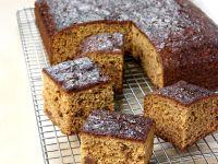 Moist Ginger Loaf Cake recipe