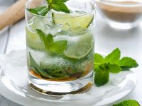 Rum and Mint Cocktail recipe