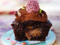 Molten Caramel Cupcakes