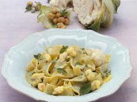 Monkfish and Cauliflower Pappardelle recipe