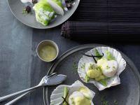 Monkfish Lettuce Wraps recipe