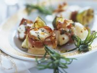 Monkfish Rosemary Skewers recipe