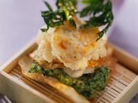 Monkfish with Celery Puree recipe