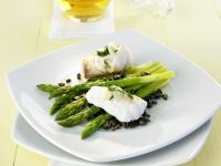 Monkfish with Green Asparagus recipe