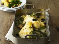 White Fish Bake with Herbs recipe