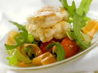 Monkfish with Vegetables and Rice recipe