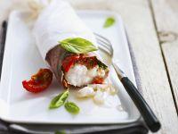 Monkfish Wrapped in Ham recipe