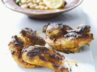 Moroccan Style Chicken with Chickpeas recipe