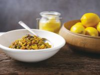 Moroccan-Style Chicken with Olive and Lemon recipe