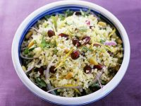 Moroccan-Style Couscous with Pomegranate recipe