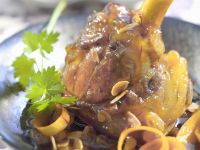 Morrocan Lamb Hock Stew recipe