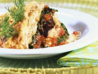 Moussaka with Spinach recipe