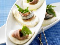 Mozzarella with Anchovies recipe