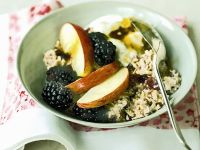 Whole Grain and Berry Breakfast Bowl recipe