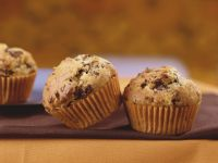 Muffins with Chopped Chocolate recipe