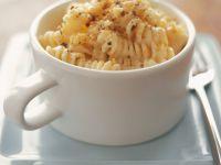 Mug of Fusilli and Parmesan recipe