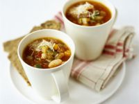Mugs of Bean and Veg Soup recipe