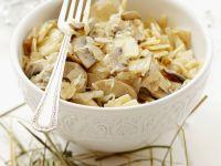 Mushroom and Cabbage Pasta recipe