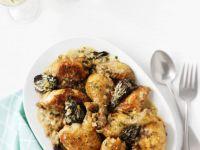 Mushroom and Chicken Fricassee recipe