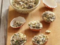 Mushroom and Egg Salad recipe