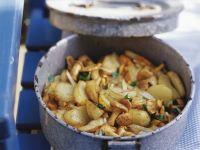 Mushroom and Potato Saute recipe