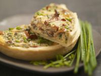 Mushroom and Spring Onion Tart recipe