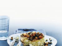 Mushroom and Sweet Potato Souffle Omelette recipe