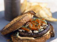 Mushroom Burger Sandwiches recipe