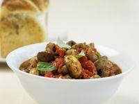 Mushroom Fricassee recipe