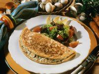 Mushroom Omelette recipe