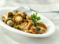 Mushroom Pan recipe