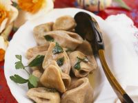 Mushroom Pasta Parcels recipe