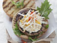Mushroom Patty Burgers recipe
