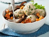 Mushroom Ragout with Dumplings recipe