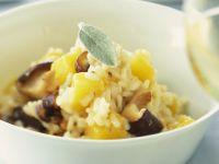 Mushroom Risotto with Pumpkin recipe