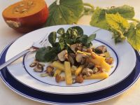 Mushroom Salad with Pumpkin recipe