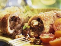 Mushroom-stuffed Chicken recipe