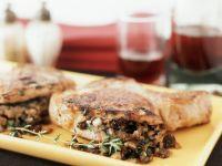 Herby Stuffed Chops recipe