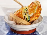 Mushroom-Zucchini Cheese Pockets recipe