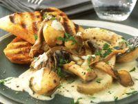 Gourmet Mushroom Crostini recipe
