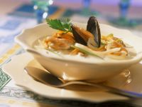 Seafood and Root Veg Bisque recipe
