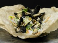 Mussels in Parchment recipe