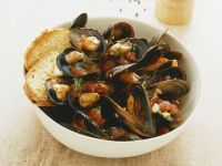 Mussels with Tomato Sugo recipe