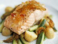 Mustard Fruit Salmon Fillet recipe