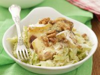 Napa Cabbage and Apple Salad with Camembert recipe