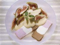 Neapolitan Ice Cream with Figs and Zabaglione Sauce recipe